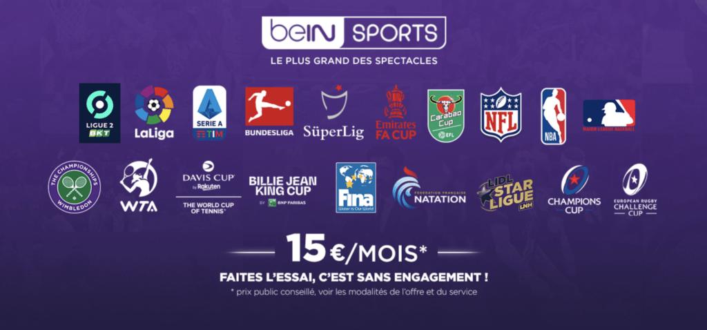 Abonnements Bein Sports 2020 2021