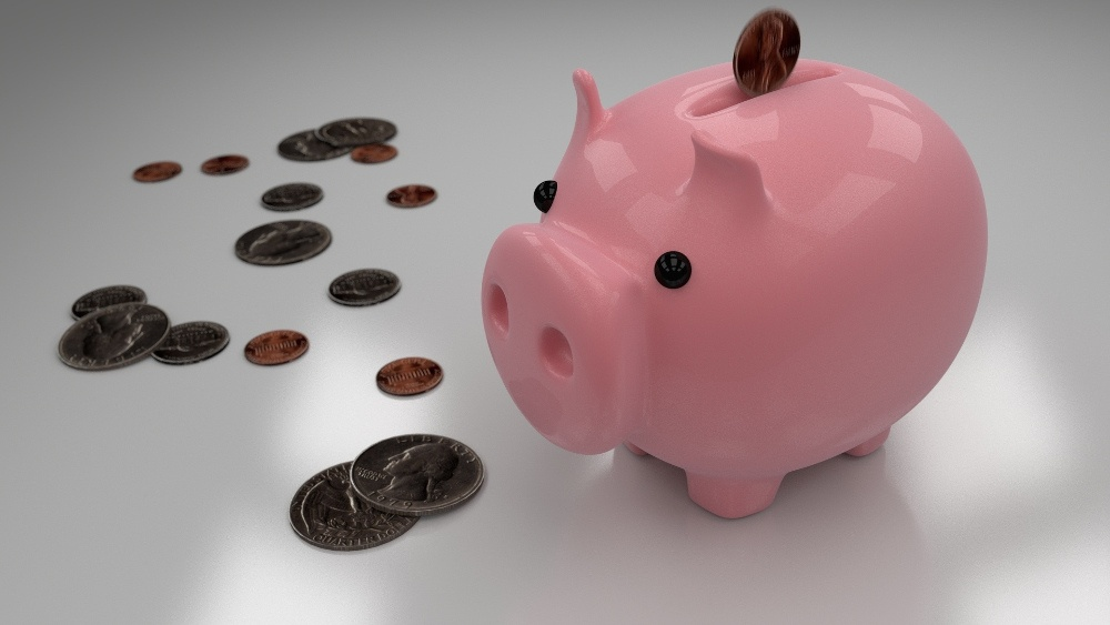 Cochon tirelire pour économiser sur son budget quotidien