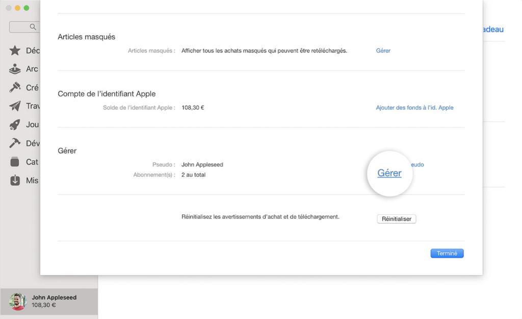 Résiliation Apple Music plateforme facilement