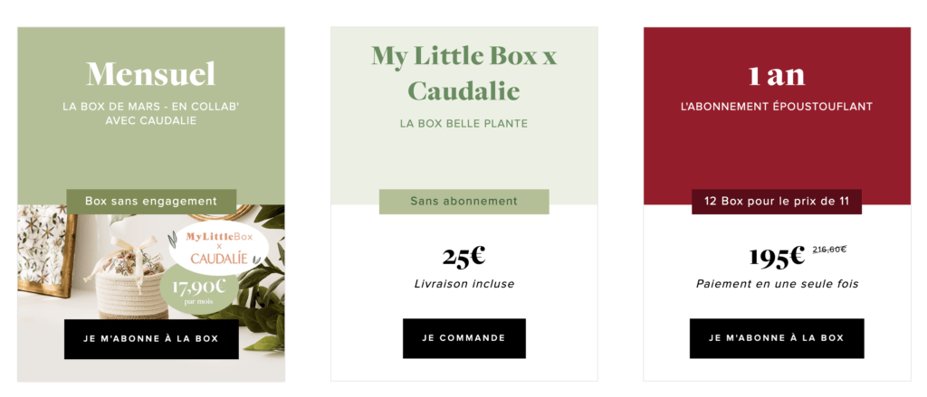 Offres My Little Box