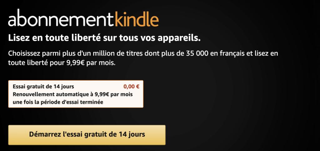Résiliation Amazon Kindle facilement
