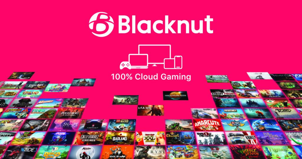 Blacknut 100% cloud gaming