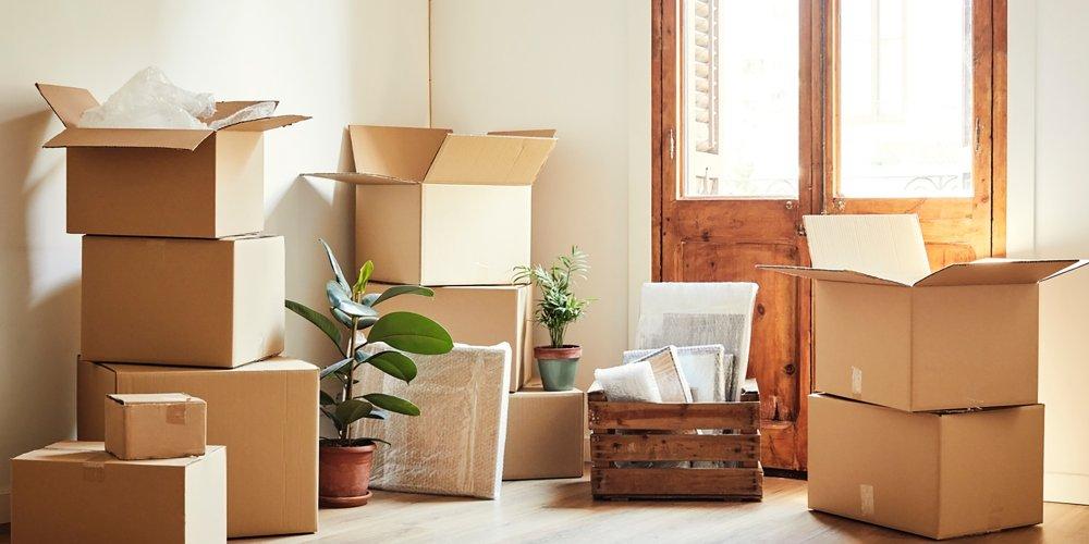 Cartons maison déménagement