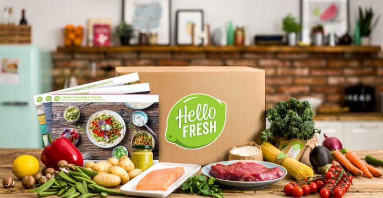 couverture hello fresh produits frais