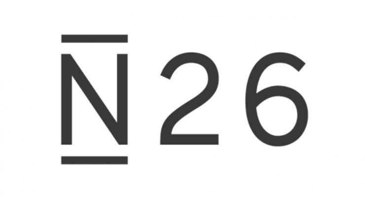 Logo N26 - la première banque pour crypto monnaie
