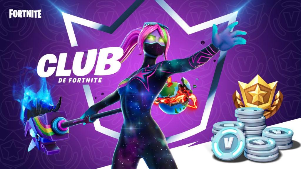 club fortnite skins prix