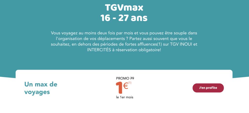 tgv max 1 euros