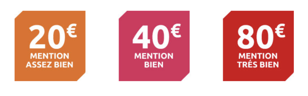 Banque populaire offre une prime bac 2021 de 20 à 80€