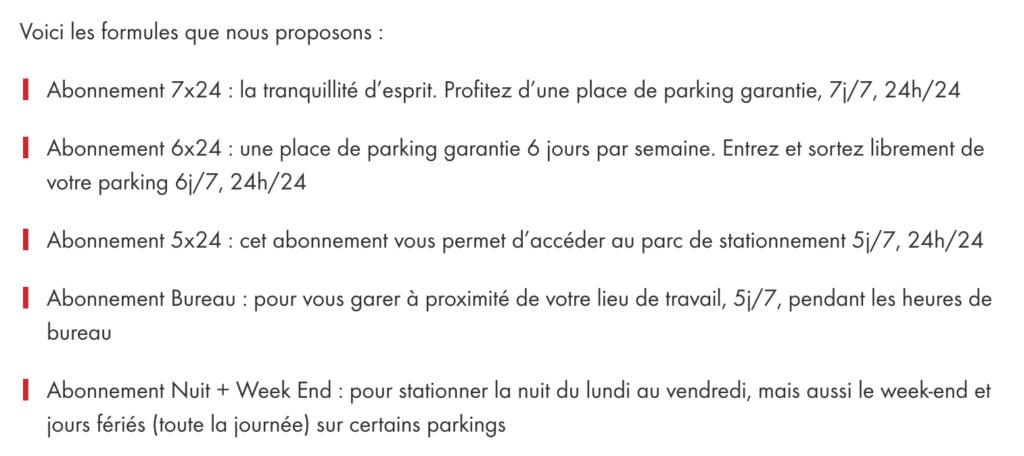 offres qpark